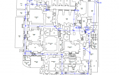 Roof drainage system investigation plans