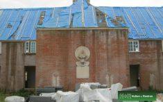 Burnham House roof renovation