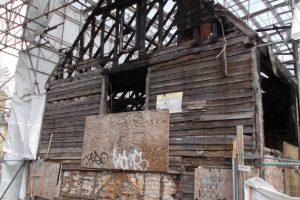 Colchester Granary Fire Damage