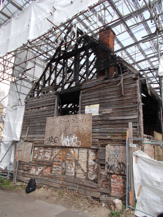 Case Study - Colchester Granary Fire Damage - Main Image
