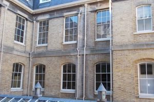 Dry Rot Infection and Decay to a Building in Sandhurst, Surrey