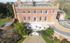 Drone Survey of Large Brick Building