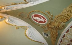 Historic ceiling painting