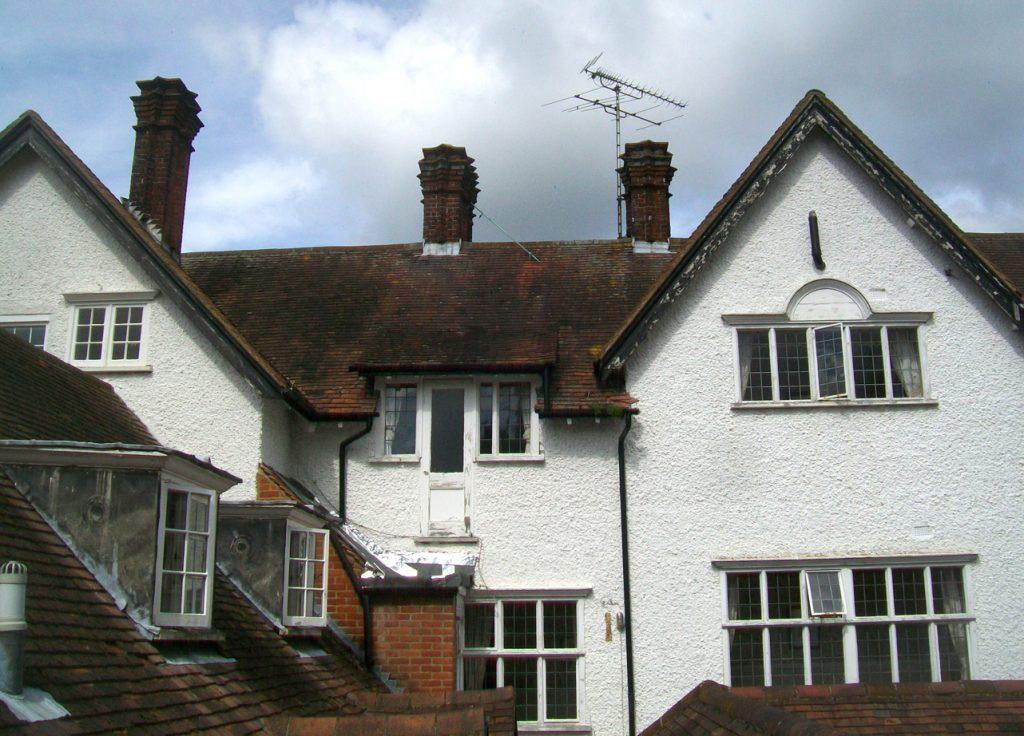 Large Edwardian house with lots of windows