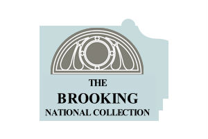 The brooking national collection logo