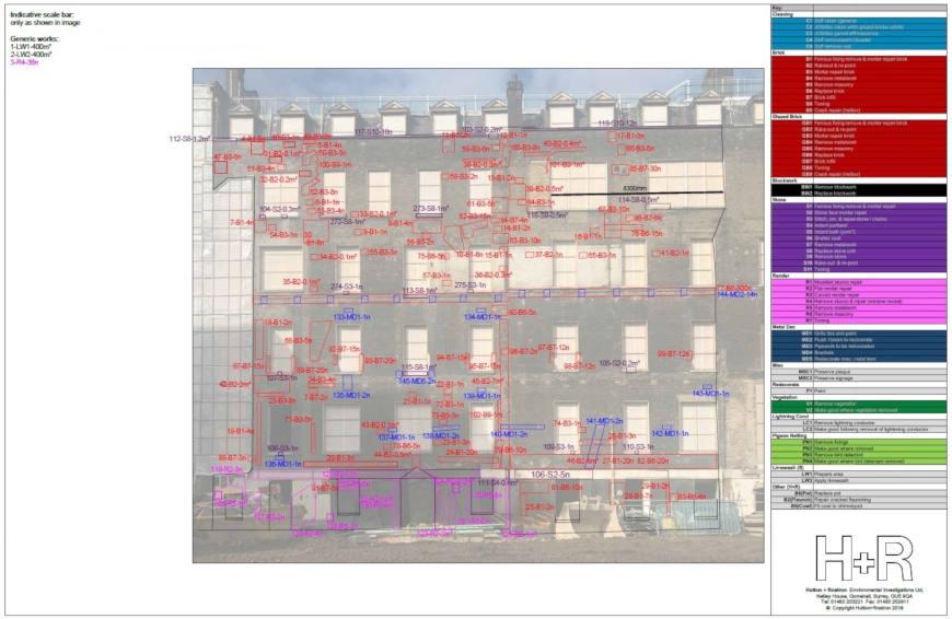 busy south elevation -External Masonry survey - main image